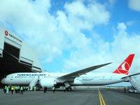 İlk Boeing 787-9 Dreamliner THY filosuna katılyor