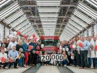 20.000'inci MAN TGE üretim bandından çıktı