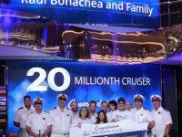MSC Cruises, 20 milyonuncu misafiri için kutlama yaptı