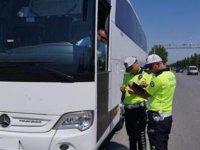 Tur araçları denetlendi, 4.486 kural ihlali belirlendi