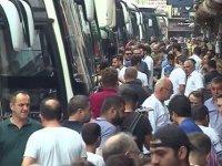 Otobüsçüler 10 bin ek seferin biletlerini satışa sundu