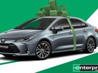 50 kişiye 2 gün ücretsiz Corolla Hybrid kiralama fırsatı