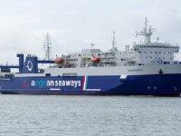 Çeşme-Atina feribotu zararın 16. gününden döndü