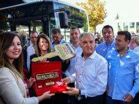 Anadolu Isuzu'dan Makedonya'ya 4 adet CNG'li Citiport