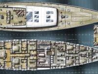 """Mengi Yay, """"en uzun"""" yelkenlisinin inşasına başladı"""
