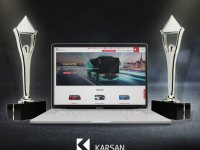 Karsan'ın internet sitesine iki ödül birden