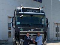 AYS Uluslararası Nakliyat'a Volvo FH16 750 HP