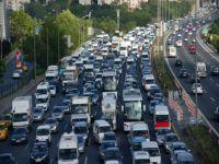Trafikteki araç sayısı 17 milyon 191 bine yükseldi