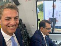 Enerji Bakanı TEMSA MD9 ElectriCITY'yi test etti