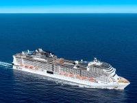 MSC Grandiosa'nın denize indirilişi 4 gün sürecek