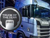 """""""Yılın Kamyonu Latin Amerika 2020""""de zafer Scania'nın"""