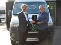 Mercedes'ten Transay Taşımacılık'a 10 Yeni Sprinter