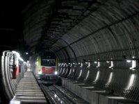 Marmaray'dan ilk kez bir yük treni geçti