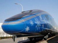 Çin'de sürücüsüz yüksek hızlı tren test sürüşüne başladı