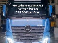 Mercedes, Aksaray'da 275.000'inci kamyonunu üretti