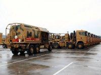 BMC ve Öztreyler 72 tank taşıyıcıyı MSB'ye teslim etti