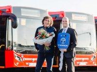 Alman yollarındaki Temsa otobüs sayısı 1000'i aştı