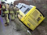 İETT otobüsü kaza yaptı: Çok sayıda yaralı var