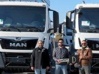 Ekpet İnşaat 12 adet MAN kamyon daha aldı