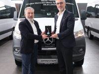 Mercedes'ten İlkem Turizm'e 20 Yeni Sprinter