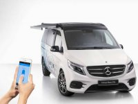Mercedes'in Marco Polo karavanı, kamplara keyif katacak