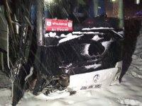 Sivasspor altyapı otobüsü kaza yaptı, yaralılar var