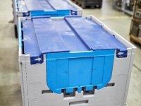 Hassas parçalar CHEP konteynerleriyle güvende