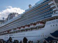 Cruise gemisindeki Korona virüslü sayısı 61 oldu