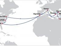 4 büyük birleşti Türkiye uğraklı transatlantik hattı kurdu