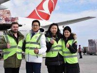 Turkish Cargo, Çin'e insani ve tıbbi yardım taşıdı