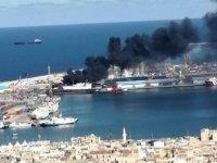 Hafter: Trablus Limanı'nda Türk gemisini vurduk