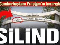 Atatürk Havalimanı Serbest Bölgesi'nin adı değişti