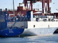 Türkiye'den kalkan silah yüklü gemi alıkonuldu