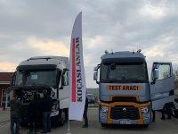 Renault Trucks'ın 13 litrelik çekicileri tanıtım turunda