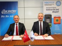 Kros Otomotiv ve Voltrun'dan stratejik ortaklık