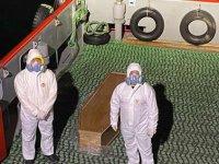 COSCO kaptanı boğaz girişinde virüsten öldü