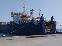 Gümrükçüler iş bıraktı, gemi tahliye edilemiyor