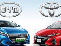 Toyota ve BYD, elektrikli araç geliştirecek