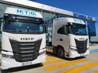 IVECO'dan HTG'e 3 adet S-WAY çekici teslimatı