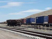 """""""Dev ihracat treni"""" Orta Asya yollarında"""