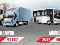 """Anadolu Isuzu'dan Ramazan'a özel """"0"""" faiz kampanyası"""