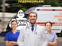 Michelin Türkiye'den lastik bağışı ve ücretsiz bakım