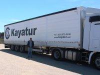 Schmitz Cargobull'dan Kayatur Lojistik'e 15 yarı römork
