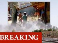 Pakistan'da evlerin üstüne yolcu uçağı düştü
