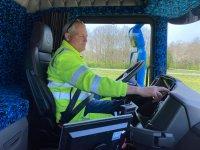 Scania R 520'si olana kalp krizinden ölüm zor