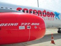 Corendon Havayolları, İzmir'e uçmaya başladı