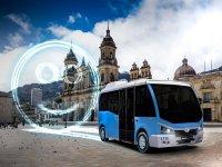 Beclean şehrinin elektrikli minibüs ihalesi Karsan'ın