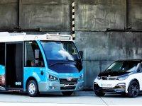 BMW'nin Münih personelini Karsan Jest EV taşıyor