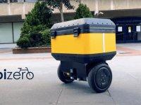 Yerli Bizero, yarı otonom kargo robotunu tanıttı
