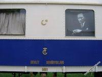 TCDD, Atatürk'ün beyaz vagonunu göz önünden kaldırıyor